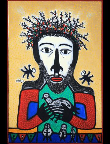 Christ with Bird