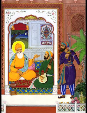 Guru Nanak and Sajjan The Robber -The Power of Shabad