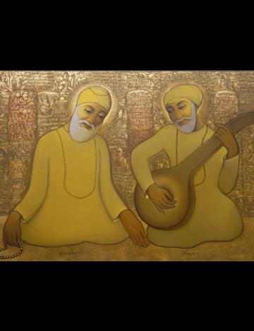 A Singing Saint