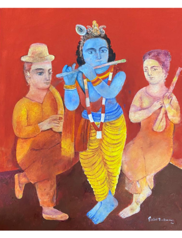 Krishna, the flutist