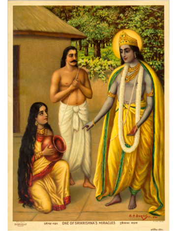 One of Sri Krishna's Miracles