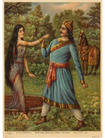 Devajani rescued from the well