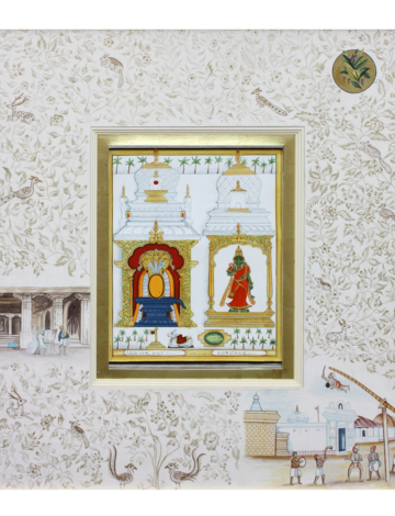 Shivalingam and Parvati