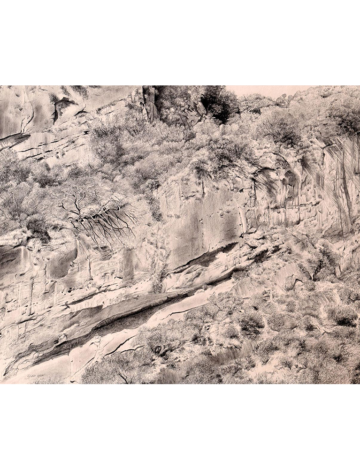 Sand Stone Cliff