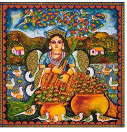 Jayasri Burman paintings